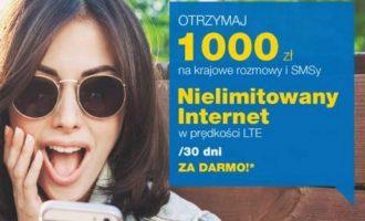 1000 zł i Internet bez limitu w Lycamobile za rejestrację numeru