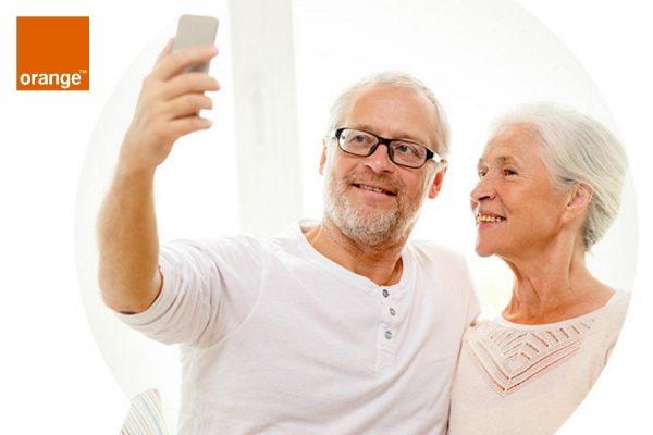 Telefony dla seniorów w Orange