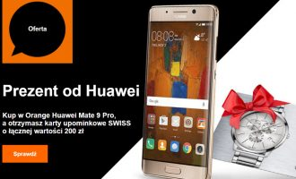 Huawei Mate 9 Pro z prezentem w Orange
