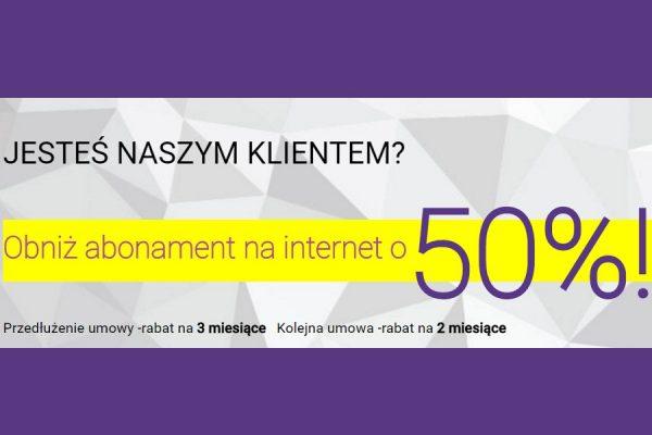 Play Internet mobilny taniej o 50%