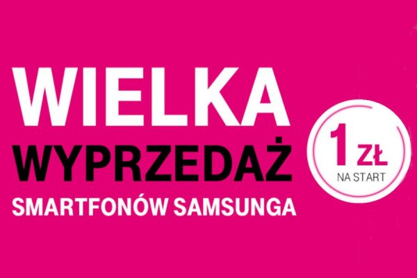 Galaxy A3 i A5 za 1 zł w T-Mobile