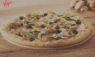 Okazje Virgin Mobile – Telepizza tańsza o 50%