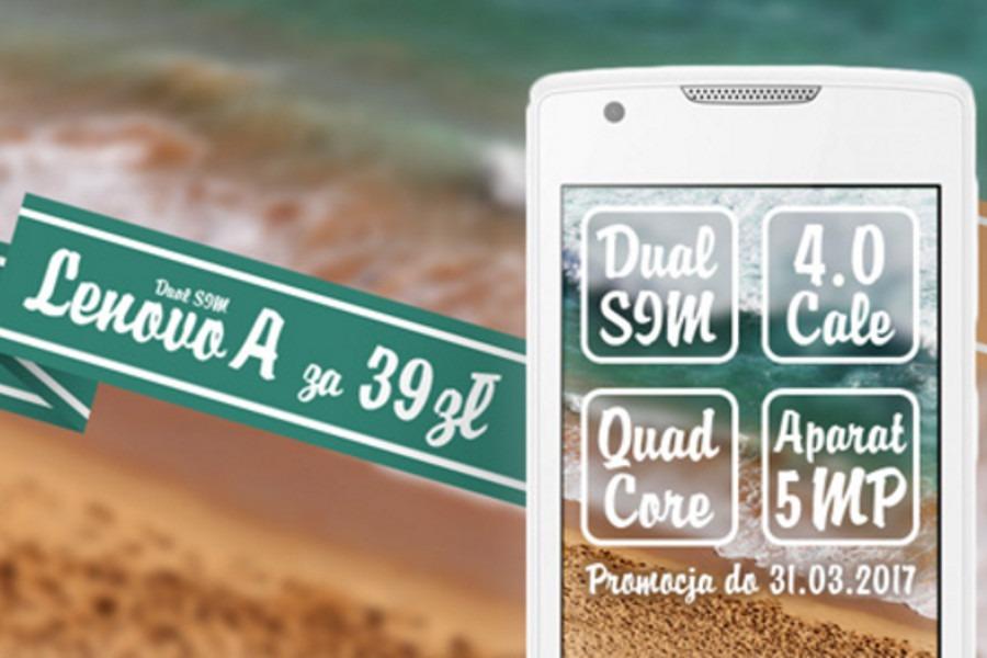 Lenovo A Dual SIM Best MOVE 39