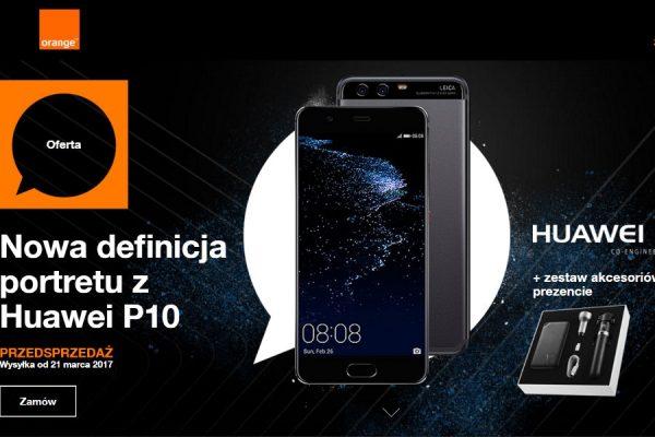 Huawei P10 w Orange