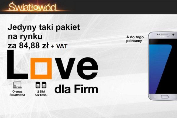 Orange Love dla firm