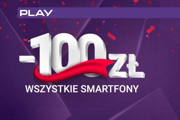 Rabat 100 zł w Play