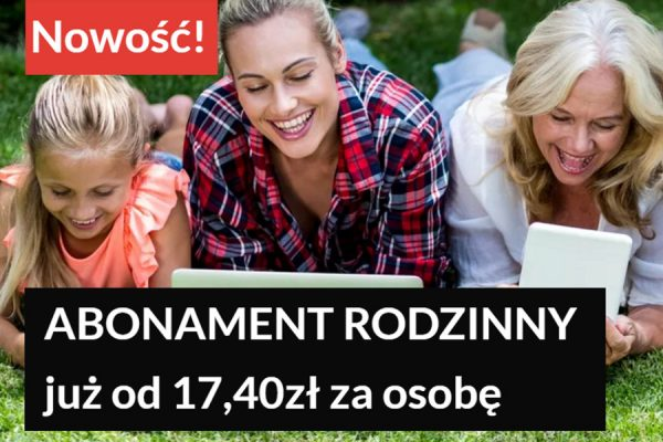 Premium Mobile abonament rodzinny