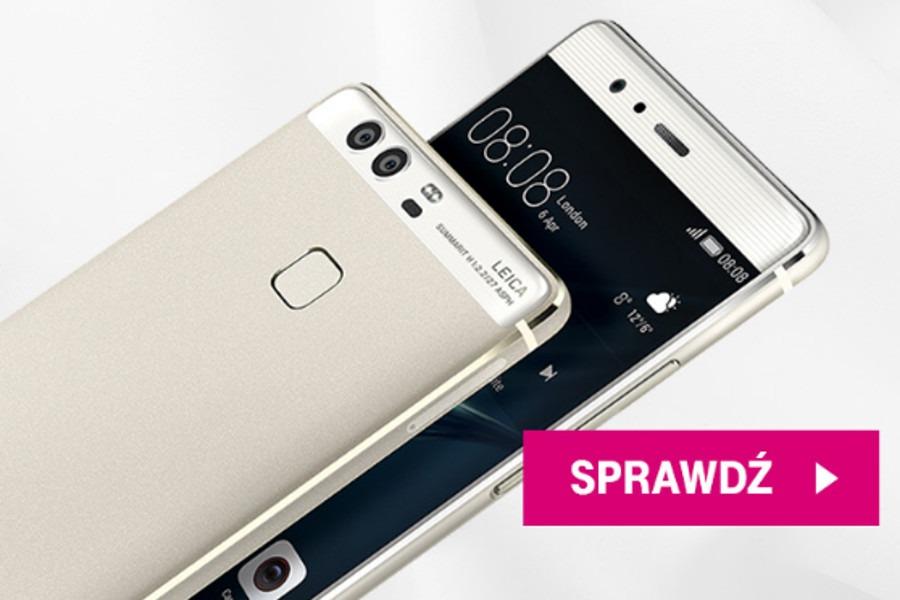 Huawei P9 taniej o 100 zł w T-Mobile