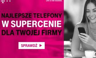 Najlepsze telefony w supercenie w T-Mobile dla firm