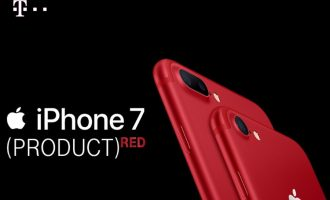 Czerwony iPhone 7 (PRODUCT) RED™ w T-Mobile