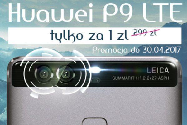Promocja Huawei P9