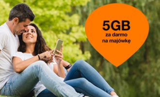 5 GB za darmo na majówkę w Orange