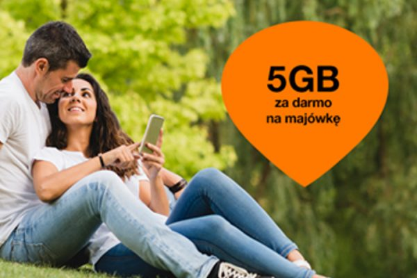 5 GB za darmo w Orange