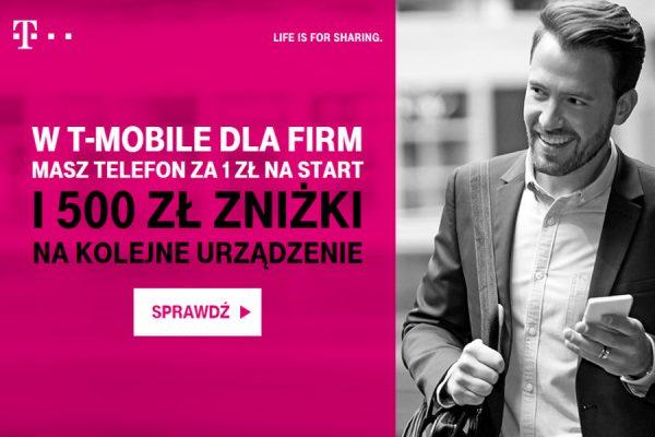 500 zł zniżki w T-Mobile