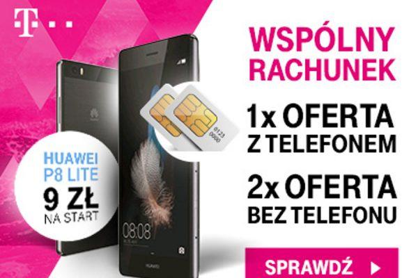 Huawei P8 Lite za 9 zł w T-Mobile