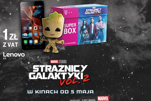 Superbox Strażnicy Galaktyki
