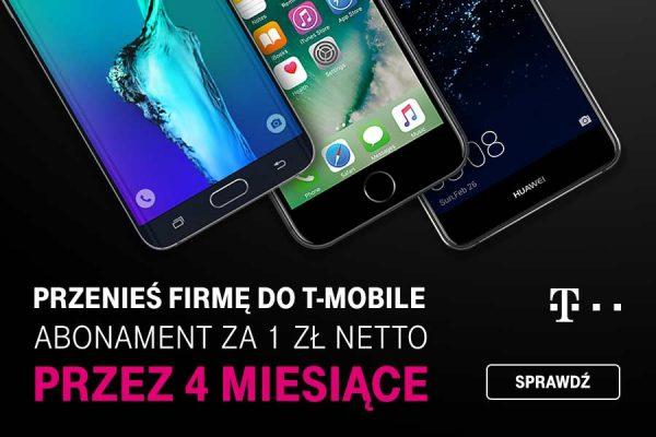 4 miesiące za 1 zł w T-Mobile