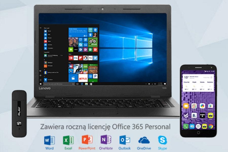 Smartfon + Laptop + Internet w Play