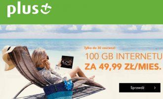 Internet mobilny Plus GSM – 100 GB za 49,99 zł