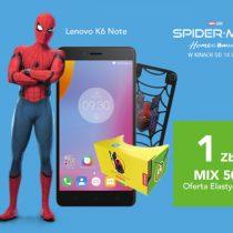 Plus MIX i zestawy Spider-mana – 6 telefonów od 1 zł
