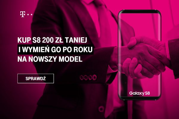 Galasy S8 899 zł T-Mobile