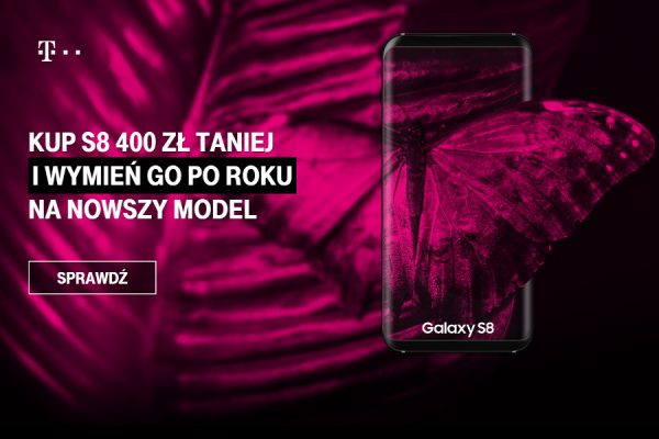 Galasy S8 299 zł T-Mobile