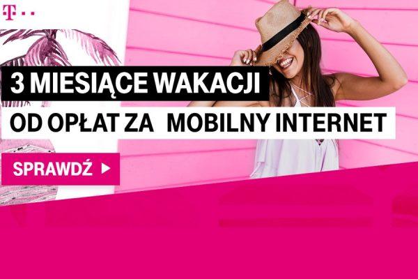 T-Mobile 3 miesiące gratis