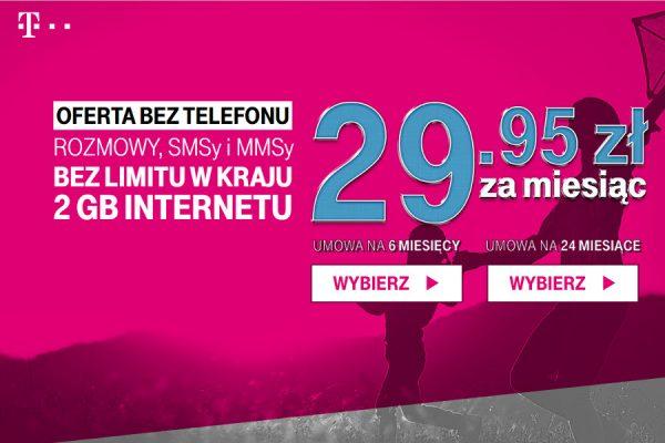 T-Mobile na 6 miesięcy