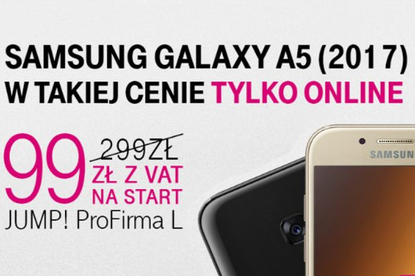 Galaxy A5 za 99 zł w T-Mobile