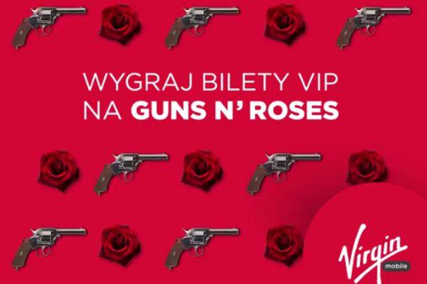 Virgin bilet G N' R