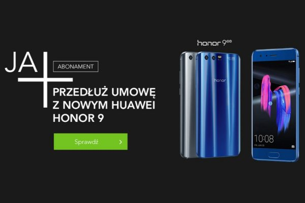 Honor 9 w Plusie