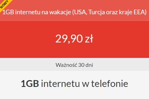 Premium Mobile 1 GB roaming