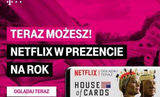 Roczny dostęp do Netflixa za darmo w T-Mobile
