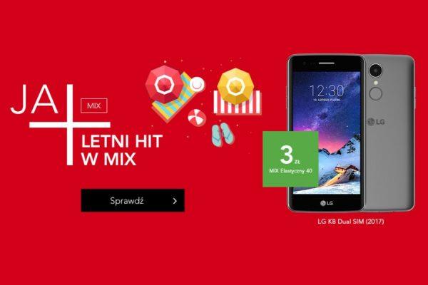Plus MIX smartfony za 3 zł