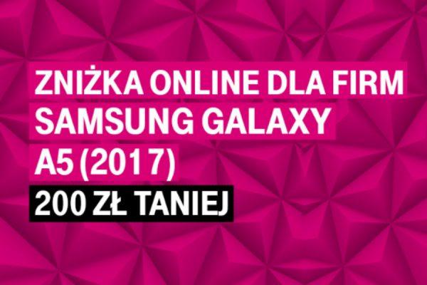 Galaxy A5 tańszy o 200 zł