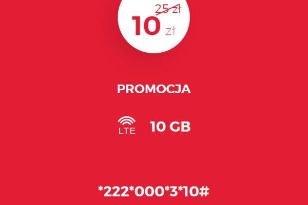 10 GB za 10 zł w Virgin Mobile