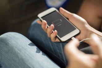 pojemna bateria w telefonie
