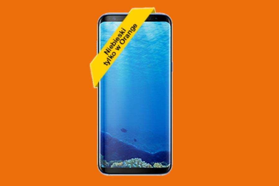 Galaxy S8 Orange