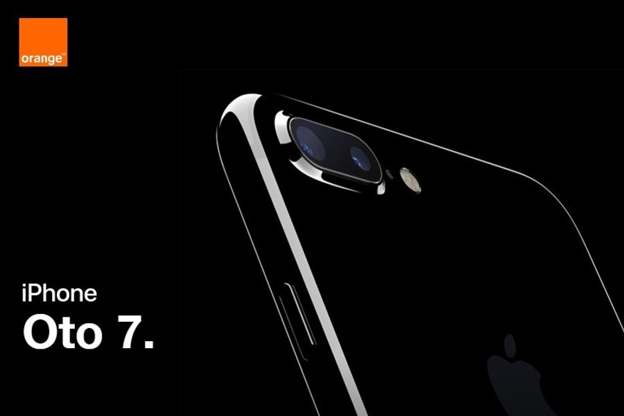 iPhone 7 w Orange