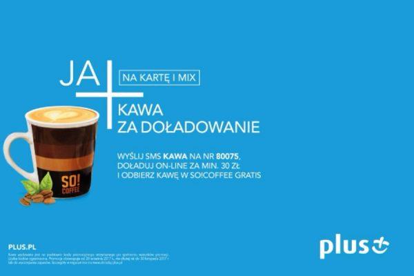 darmowa kawa w Plusie