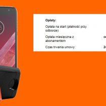 Motorola Moto Z2 Play + głośnik JBL w Orange