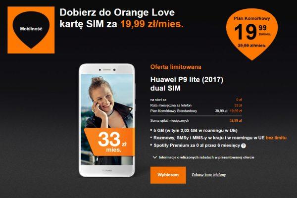 Orange 19,99 zł