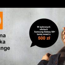 Szalona obniżka cen w Orange – Samsung Galaxy S8+ tańszy o ponad 500 zł
