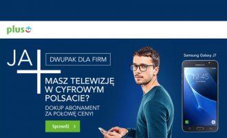 DwuPak w Plusie dla firm – abonament tańszy o 50%