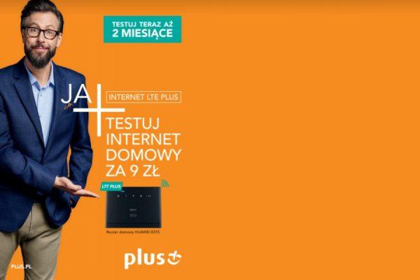 Plus LTE 9 zł na 2 miesiące