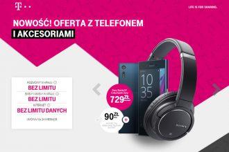 3 modele Sony Xperia + słuchawki gratis w T Mobile