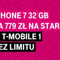 iPhone 7 32 GB za 779 zł w T-Mobile