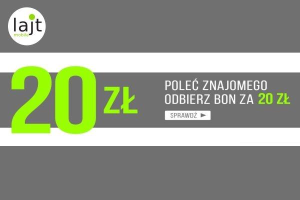 Lajt Mobile rabat 20 zł