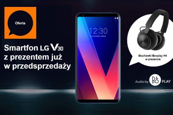 LG V30 Orange