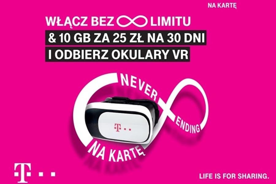 T Mobile Na Karte.T Mobile Na Kartę Bez Limitu I 10 Gb Okulary Vr Gratis Komórkomat Pl